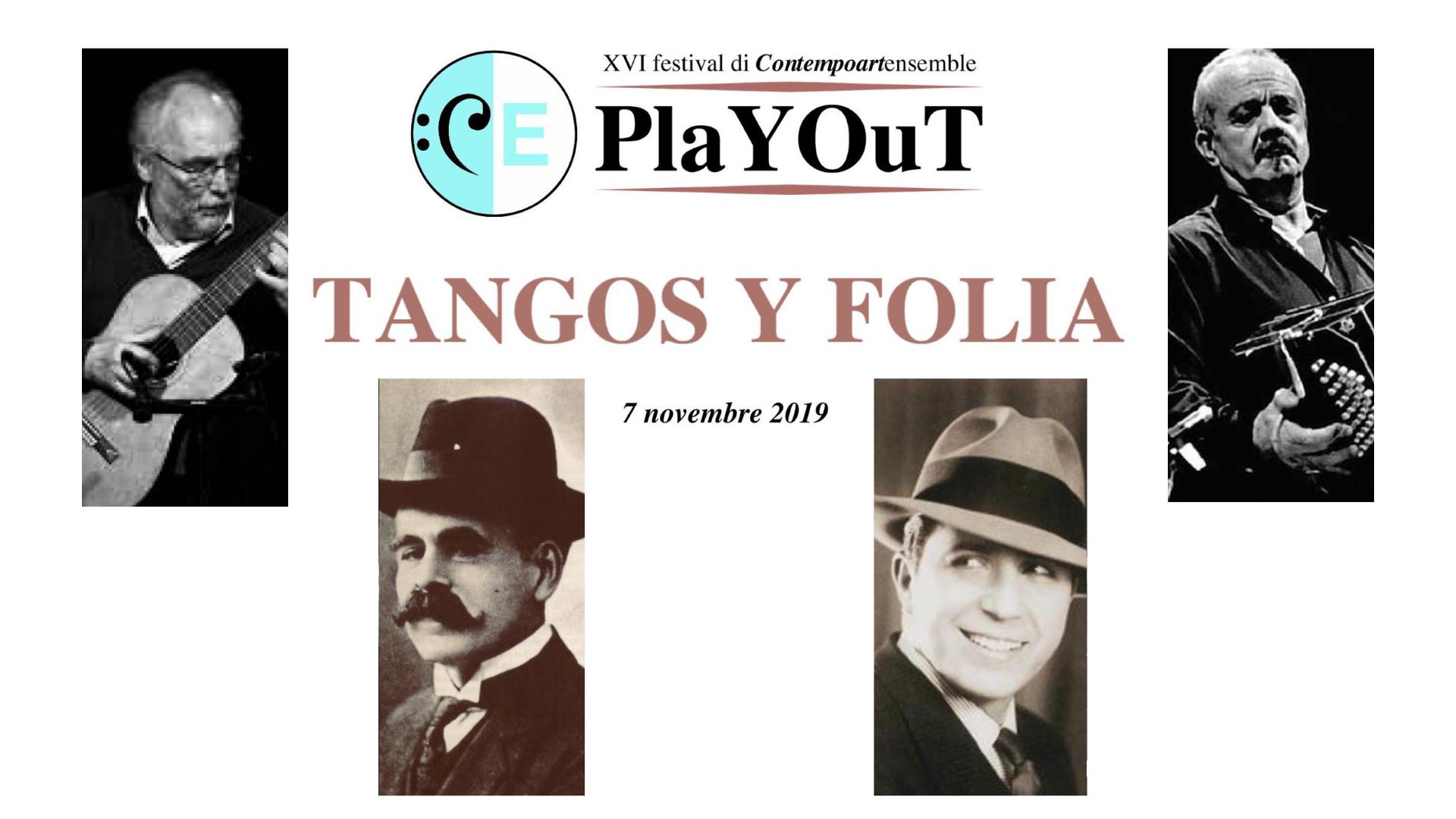 Tangos Y Folia - 7 Novembre
