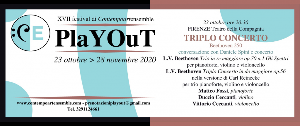 PlayOut 2020 - Triplo Concerto