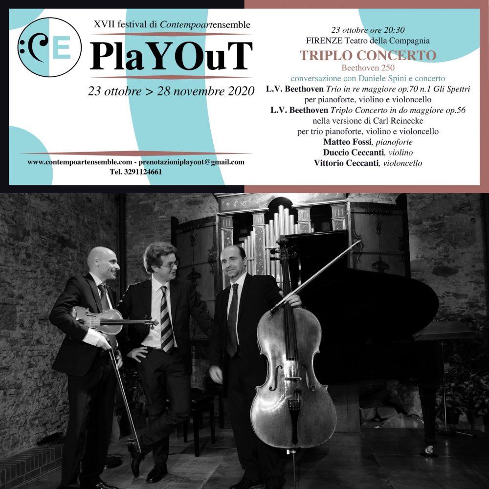 Triplo concerto Playout 2020