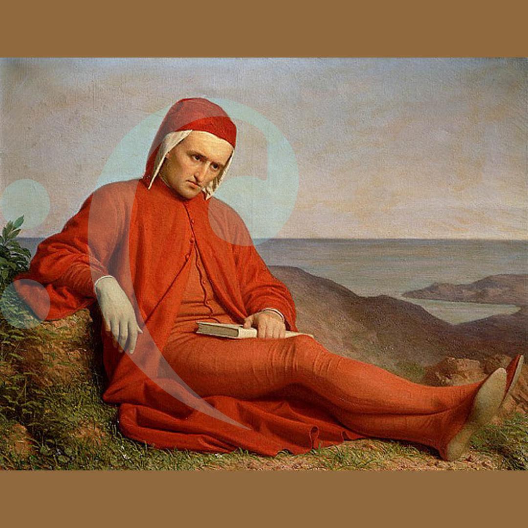 Domenico Peterlin - Dante in Esilio