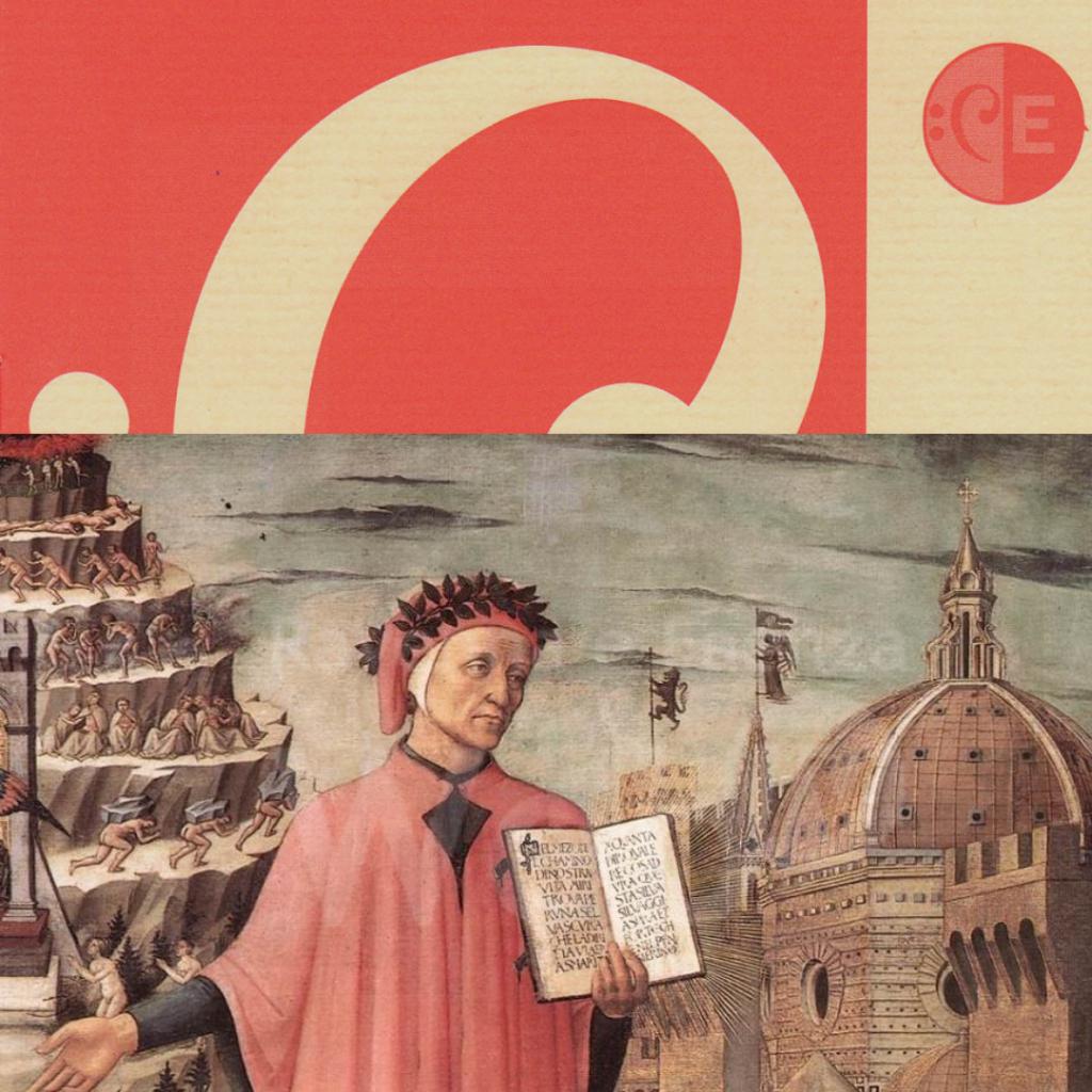 Domenico di Michelino – Ritratto di Dante con la Divina Commedia