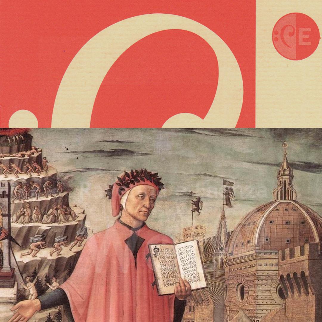 Domenico di Michelino - Ritratto di Dante con la Divina Commedia