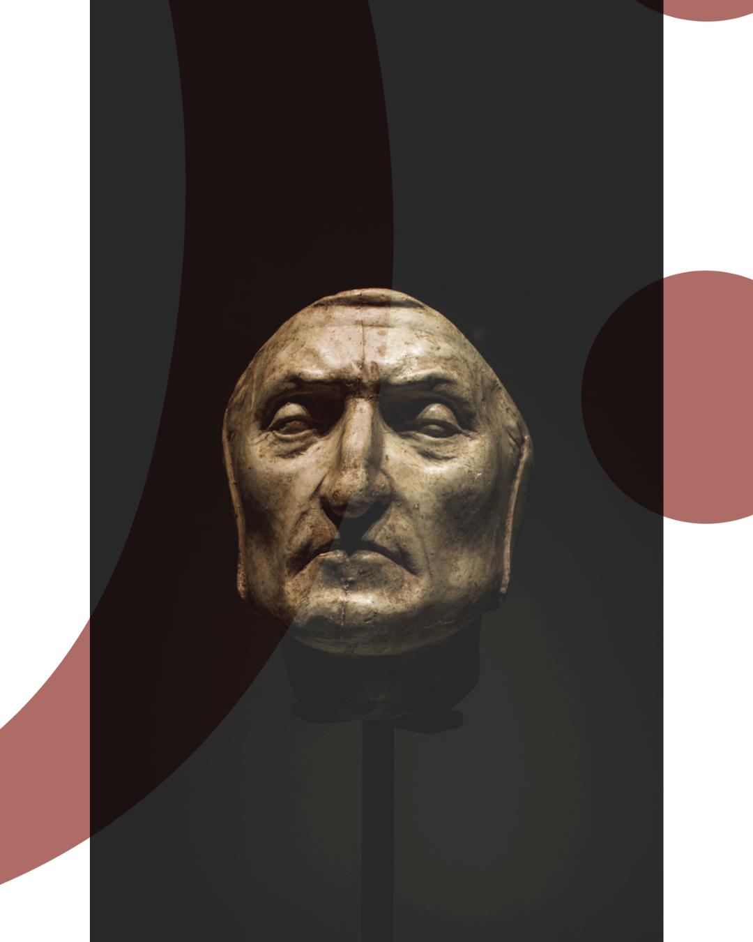 Maschera Mortuaria di Dante - Firenze