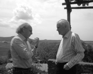 Con Sir Peter Maxwell Davies a Grotte di Castro