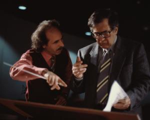 Mauro Ceccanti e Luciano Berio