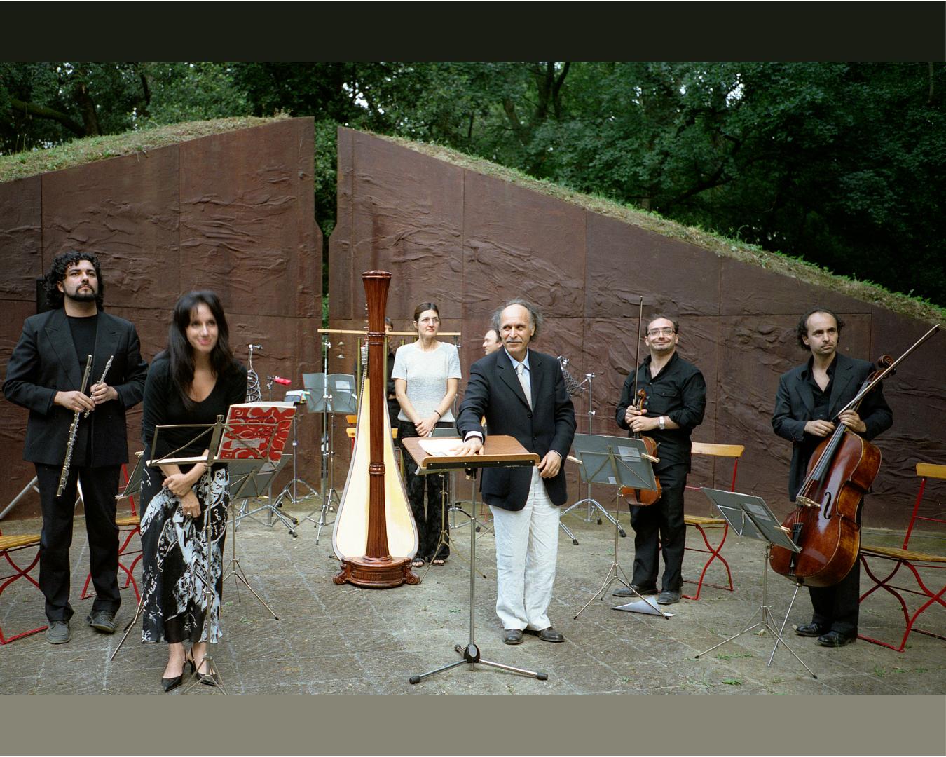 Concerto a Celle per l'inaugurazione del Teatro di Beverly Pepper