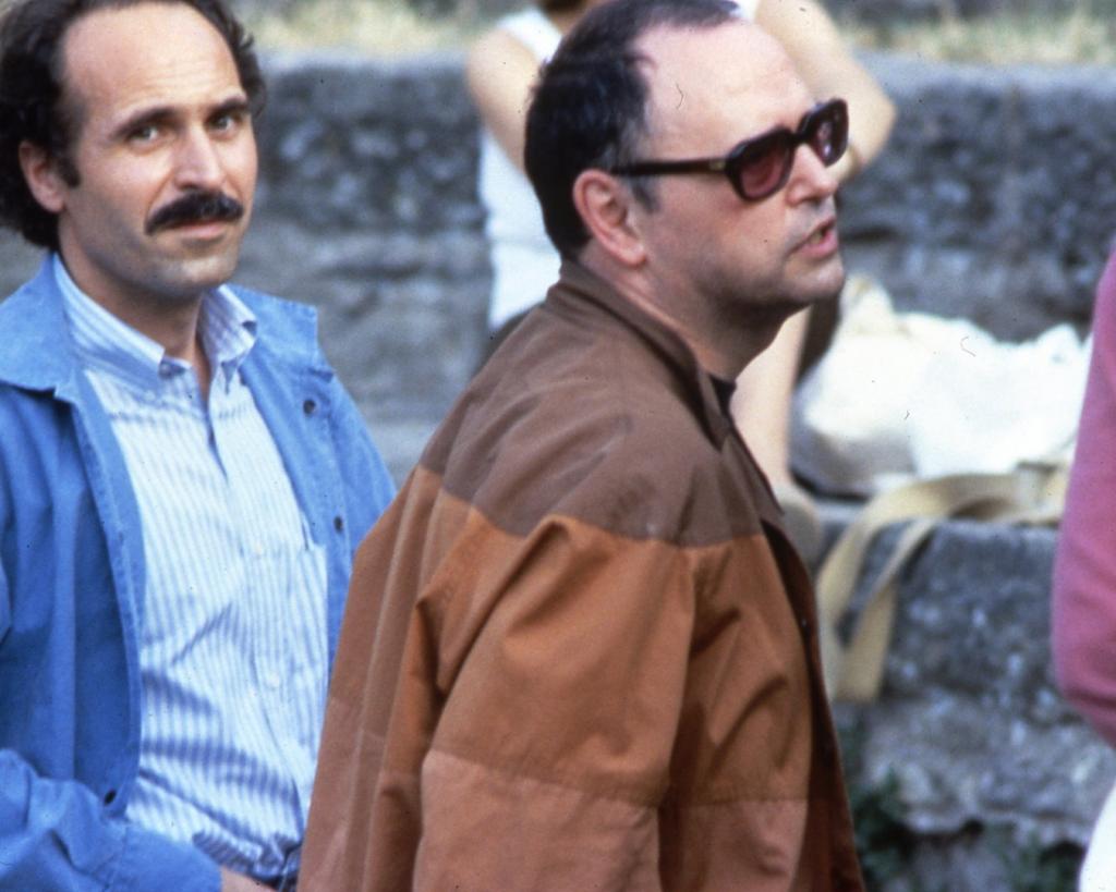 Sylvano Bussotti e Mauro Ceccanti